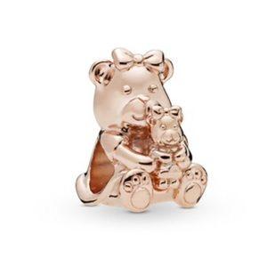 New Pandora Rose Dora Bear Charm